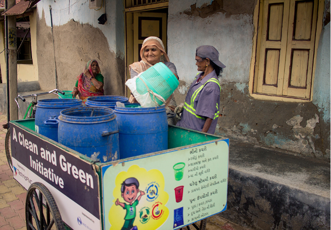 Donate for Solid Waste Management